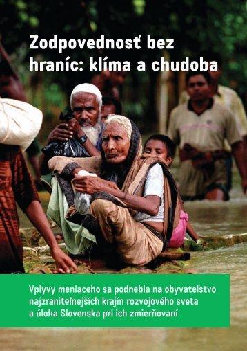 Zodpovednosť bez hraníc: klíma a chudoba - Priatelia Zeme
