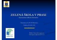 (Microsoft PowerPoint - ENVIRONMENT\301LNA+V ... - Zelená škola