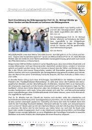Höchst lesenswert! [312.0 KB] - VfL Waiblingen
