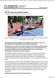 Bericht der Waiblinger Zeitung [117.0 KB] - VfL Waiblingen