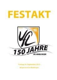 Ausführliches Programm mit Menükarte - VfL Waiblingen