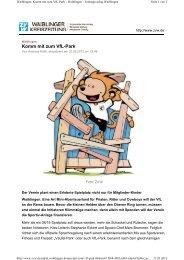 finden Sie den Bericht vom 21.Juni 2013 aus der ... - VfL Waiblingen