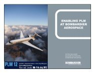 enabling plm at bombardier aerospace - PLM International ...