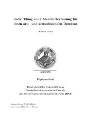 Winfried Löther - physik2.uni-jena.de - Friedrich-Schiller-Universität ...