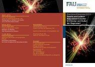 Download Flyer - Institut für Theoretische Physik I - Friedrich ...
