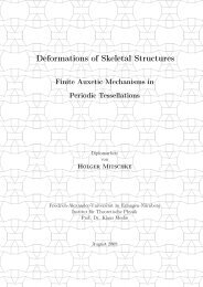 Deformation of strut frameworks with auxetic finite mechanisms