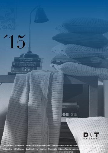 D&T Design Katalog 2015