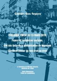 Actes du colloque - Le Copaf