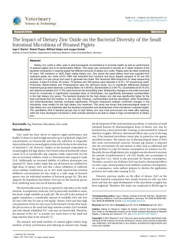 the-impact-of-dietary-zinc-oxide-on-the-bacterial-diversity-of-the-small-intestinal-microbiota-of-weaned-piglets-2157-7579.1000171