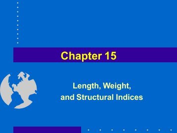 Chapter 15 - Fisheriessociety.org