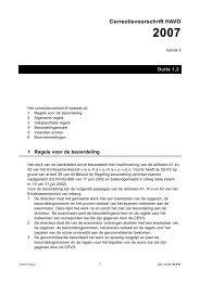 Correctievoorschrift HAVO 2007 - downloads.kennisn...