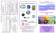 La Paz en Nuestros Días - Partnership for Safe Families