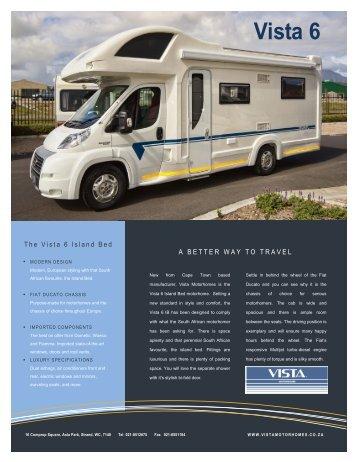 Vista 6 IB Twin (PDF) - Vista Motorhomes