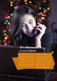 20 % Marktanteil in nur 4 Jahren: - Consistec Engineering und ...
