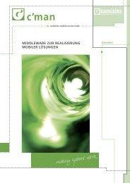 middleware zur realisierung mobiler lösungen - Consistec ...