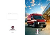 Fiat Ducato brochure - Vistamotorhomes.co.za