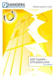 software- entwicklung - Consistec Engineering und Consulting GmbH