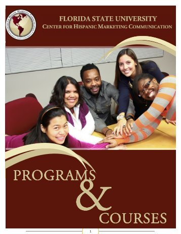 Programs Booklet - Center for Hispanic Marketing Communication