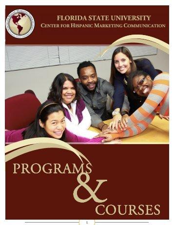 Programs Booklet - Center for Hispanic Marketing Communication