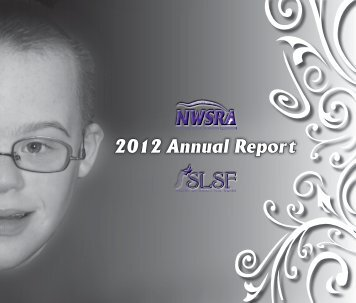 2012 SLSF/NWSRA Annual Report