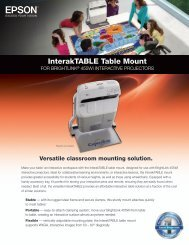 Product® 000 Interaktable Table Mount