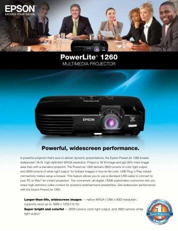 Powerlite® 1260