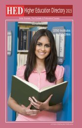 HED-Higher Education Directory 2015