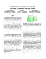 Fast Matching of Planar Shapes in Sub-cubic Runtime - Computer ...