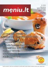 Meniu.lt leidinys 2010/1 - Restoranų verslas