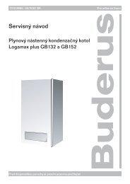 Servis GB132_152:Servis GB132_152.qxd.qxd - Buderus