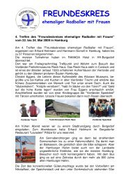 Bericht hier - Alt - Herren - Radball