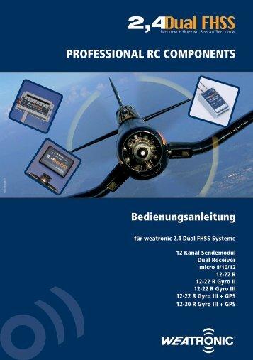 ProFESSional rC CoMPonEnTS - Graupner