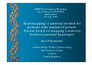 a universal method for genome wide analysis of genetic ... - eshre