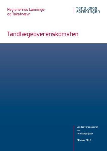Tandlægeoverenskomsten med RLTN - stfnet.dk