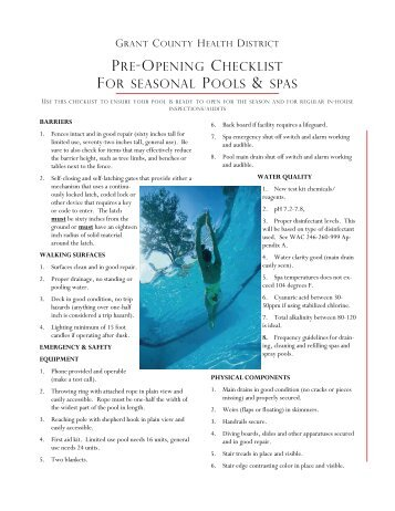 Swimming pool plan review checklist clinton county - Nsw government swimming pool register ...
