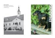 einladung - Österreichischer Club für Deutsche Jagdterrier