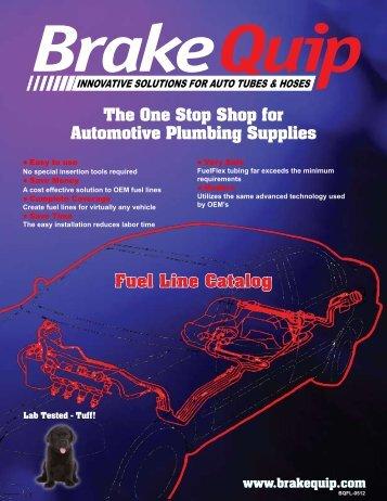 Fuel Line Repair Kit - BrakeQuip