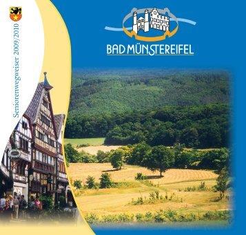 3. Unterhaltung – Kultur – Sport – Gesellschaft - Bad Münstereifel