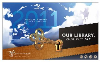 2011 Annual Report - Washington Centerville Public Library