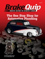 The One Stop Shop for Automotive Plumbing - BrakeQuip