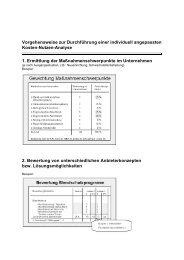 Vorgehensweise zur Durchführung einer individuell ... - Org-Delta