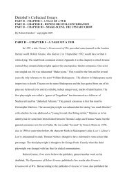 PART II - PDF File - 1 MB - Elizabethan Authors