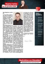 2Hz+Nachrichten aus Düsseldorf September 2011 ... - Gatter, Stephan