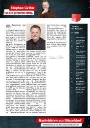 2Hz+Nachrichten aus Düsseldorf 01-2013 ... - Gatter, Stephan