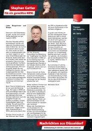 Hz+Nachrichten aus Düsseldorf 08-2013 Ausgabe ... - Gatter, Stephan