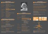 Detailprogramm / download (PDF, 81 kB) - Huber, Klaus