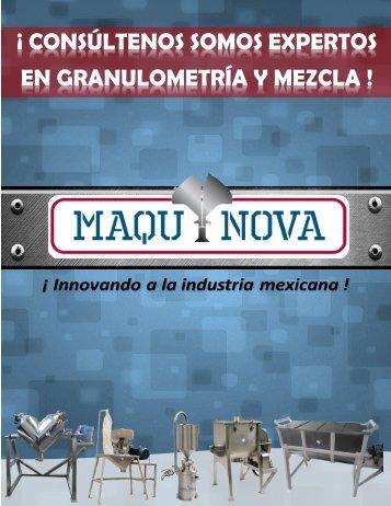 Catalogo MAQUINOVA