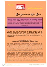 WORT ZUM MONTAG 2011 WOCHE 33 - firstfruitfamily.org