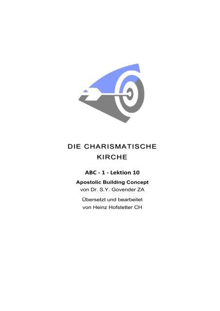 die charismatische kirche abc 1.10 drsyg.heinz.dd - firstfruitfamily