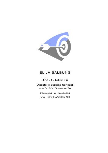 ELIJA SALBUNG ABC 1.4 DRSYG.HEINZ.DD - firstfruitfamily